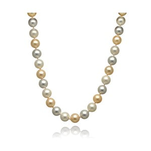 Srebrno-złoty naszyjnik perłowy Mara de Vida Only Me, długość 52 cm