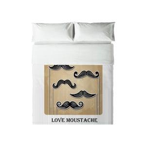 Pościel Hipster Love Moustache, 200x200 cm