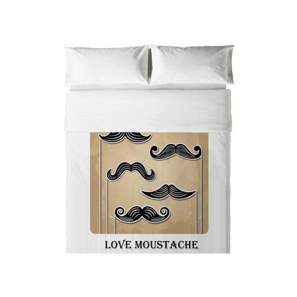 Pościel Hipster Love Moustache, 240x220 cm