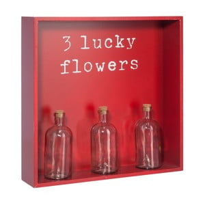 Półka z 3 wazonami Bottle