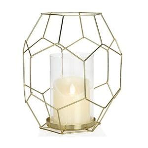 Świecznik Gold Candle, wysokość 25,5 cm