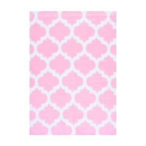 Różowy dywan nuLOOM State Pink, 122x183 cm