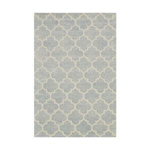 Jasnoniebieski dywan tuftowany ręcznie Bakero Diamond, 153x244 cm