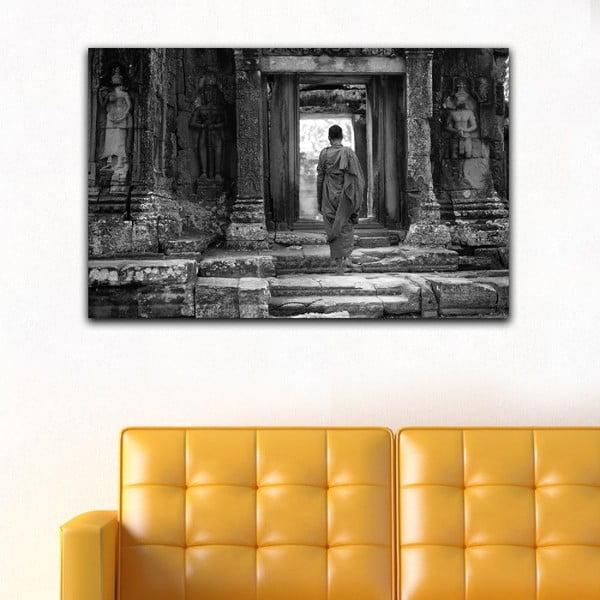 Obraz Black&White Temple, 45x70 cm
