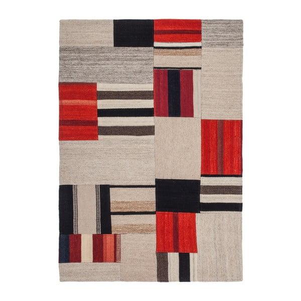Beżowo-czerwony dywan Intenso, 120x170cm