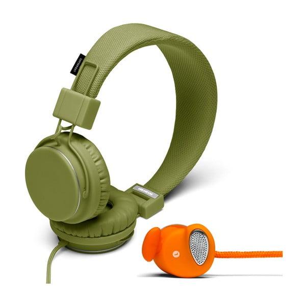 Słuchawki Plattan Olive + słuchawki Medis Orange GRATIS
