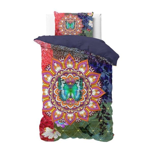 Bawełniana pościel jednoosobowa Sleeptime Zack, 140x220 cm