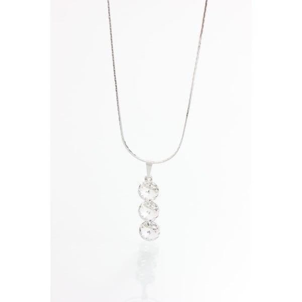 Naszyjnik z kryształami Swarovskiego Yasmine Three