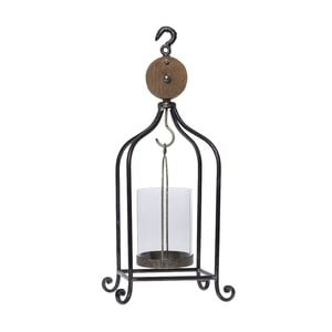 Metalowy lampion Greys, 16x16x50 cm