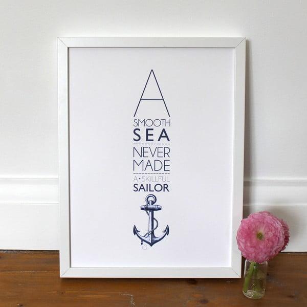 Plakat A Smooth Sea, 30x40 cm