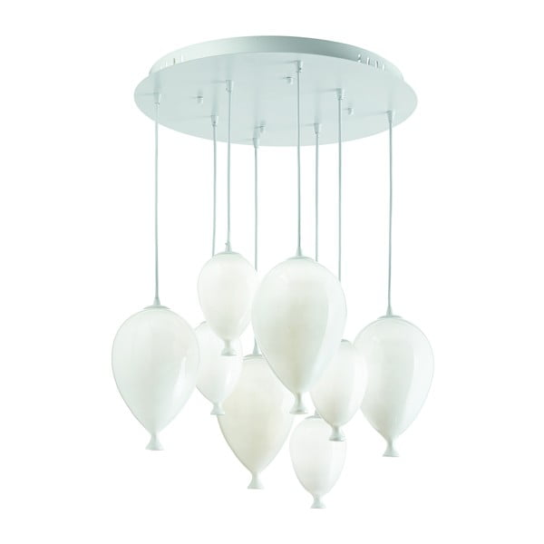 Lampa wisząca Evergreen Lights White Balloons
