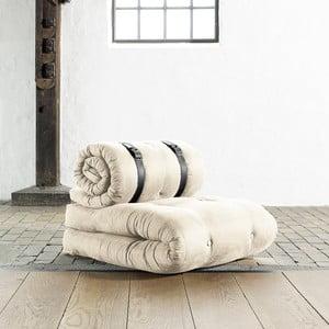 Fotel rozkładany Karup Buckle Up Natural