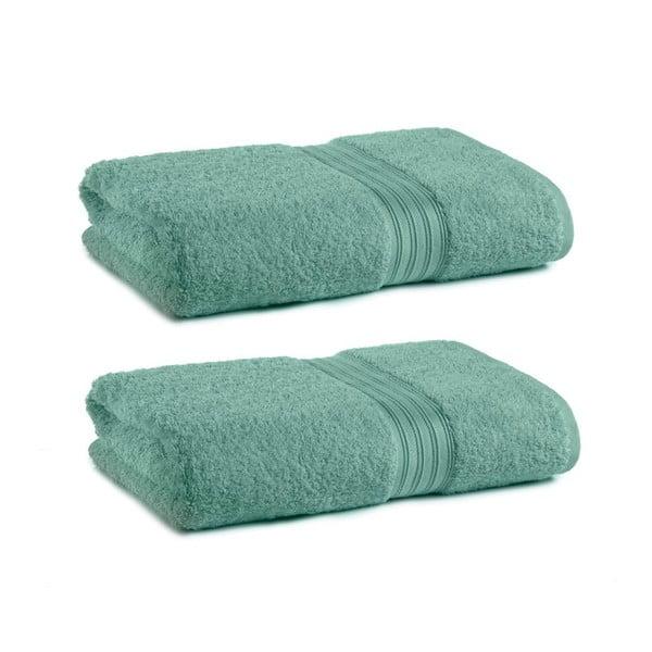 Zestaw 2 ręczników Indulgence Victoria Green, 41x71 cm