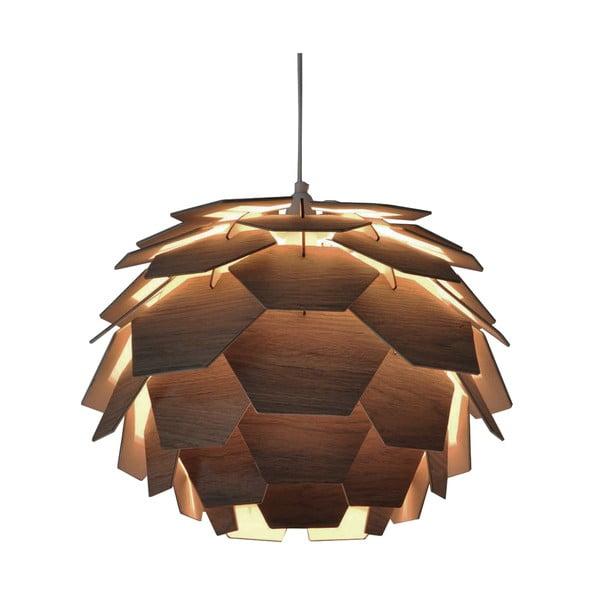 Brązowa lampa wisząca ScanLamps Carpatica, ⌀41cm