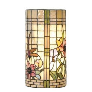 Światło naścienne Tiffany Flowers