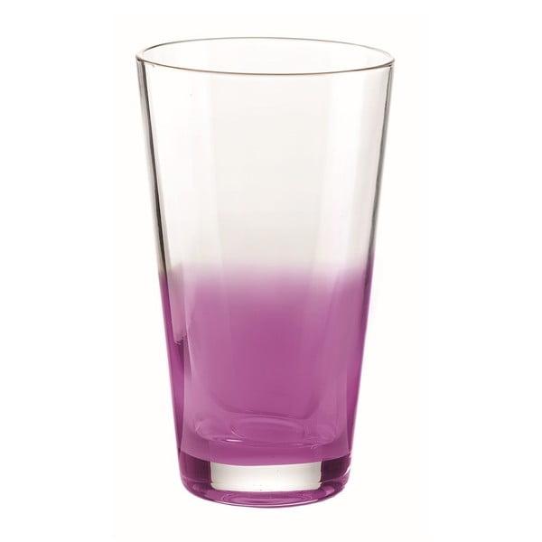 Lawendowa wysoka szklanka Fratelli Guzzini Mirage