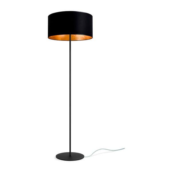 Czarno-złota lampa stojąca Bulb Attack Tres