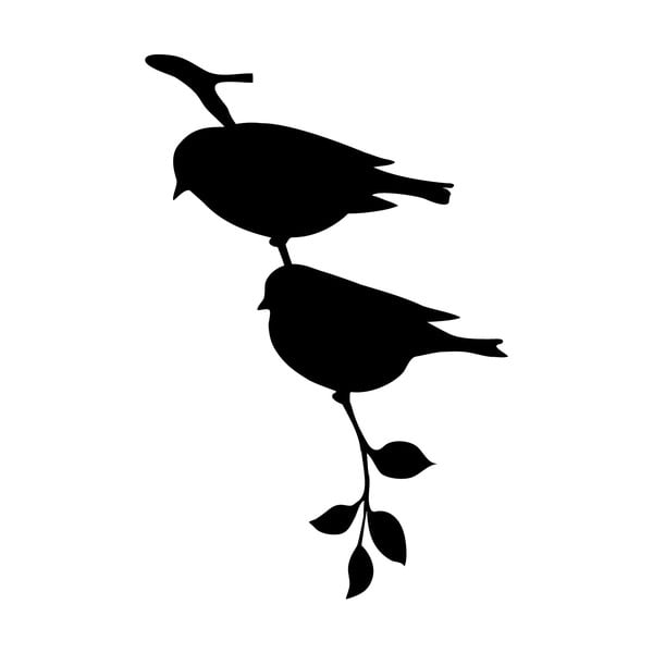 Naklejka Ambiance Birds On Tree Stick