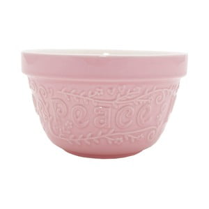 Kamionkowa miska Flour Ppower Pink, 16 cm