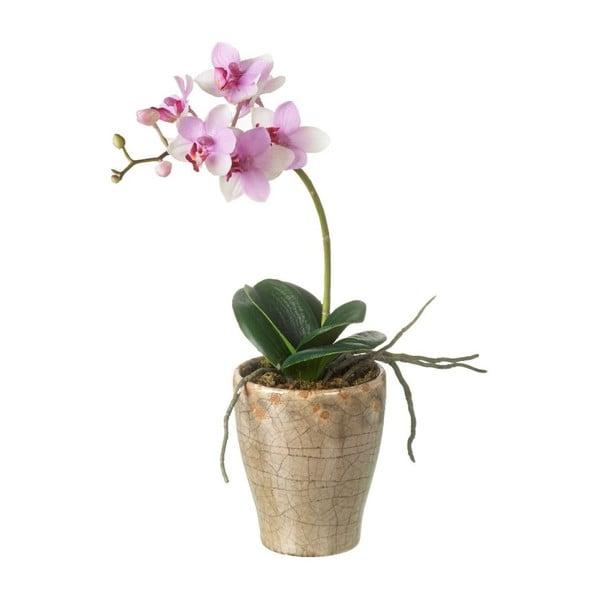 Sztuczny kwiatek Orchid v květináči