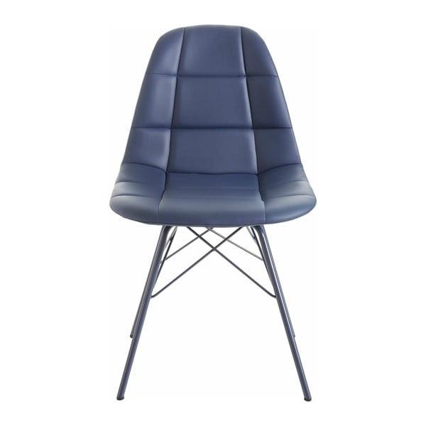 Zestaw 2 niebieskich krzeseł Støraa Sting
