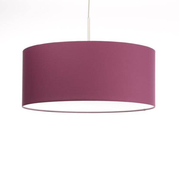 Różowa lampa wisząca Artist, zmienna długość, Ø 60 cm