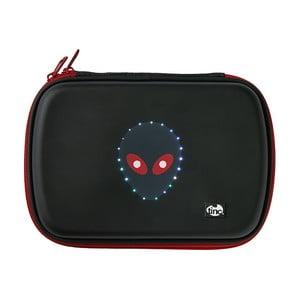 Czarny piórnik świecący TINC GlowGo Alien