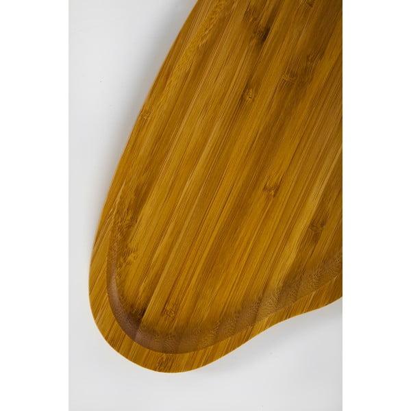 Bambusowa taca Bambum Santos, 26x15 cm