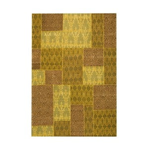Dywan Patchwork 5 Yellow, 62x124 cm