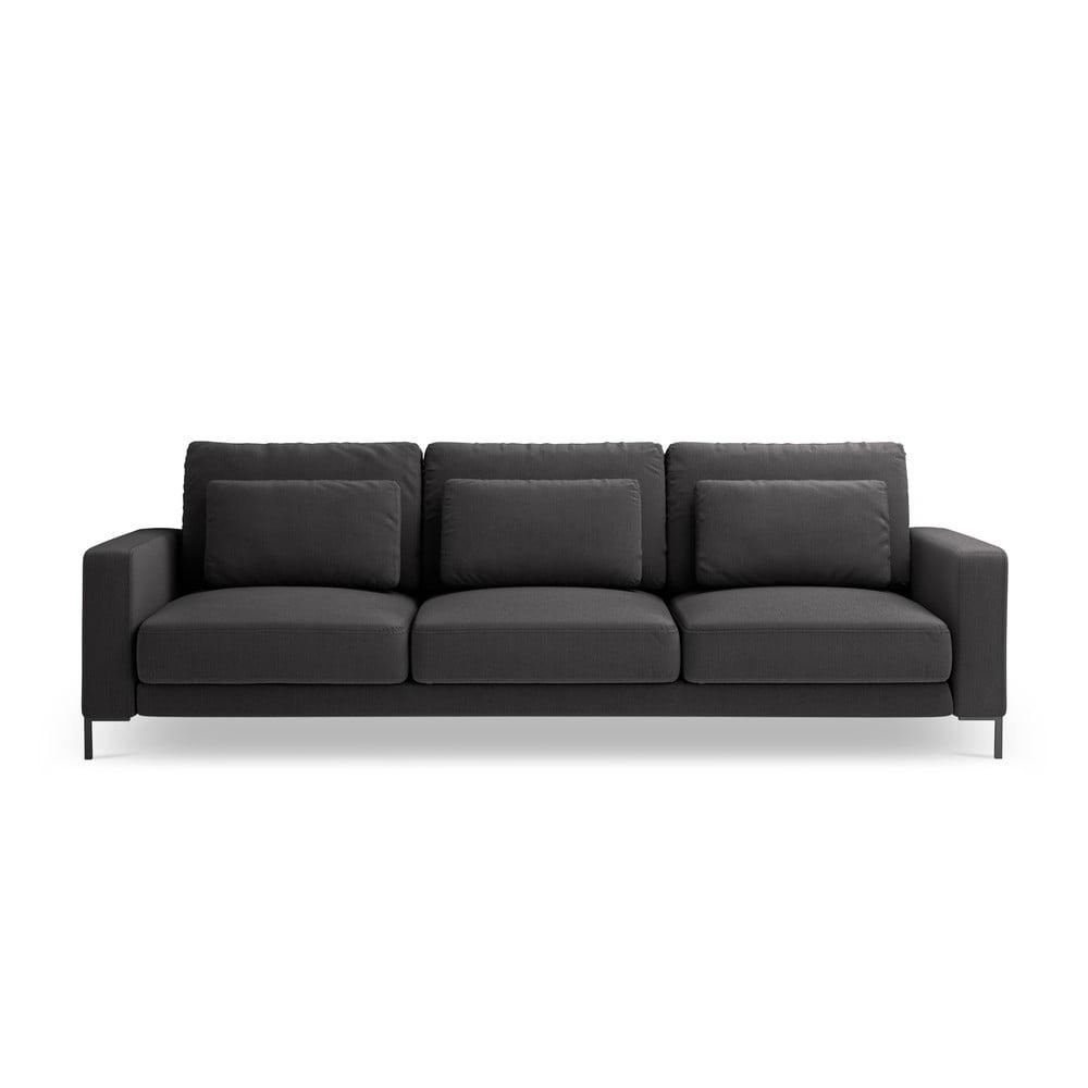 Ciemnoszara sofa Interieurs 86 Seine, 220 cm