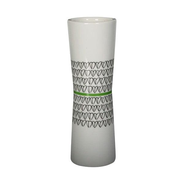 Wazon Heart Vase Green