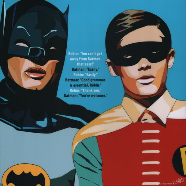 "Obraz ""Batman and Robin"""