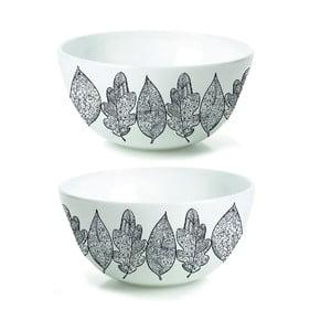 Zestaw 2 porcelanowych misek Hojas