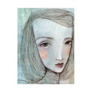 Plakat autorski: Léna Brauner Alicja, 46x60 cm