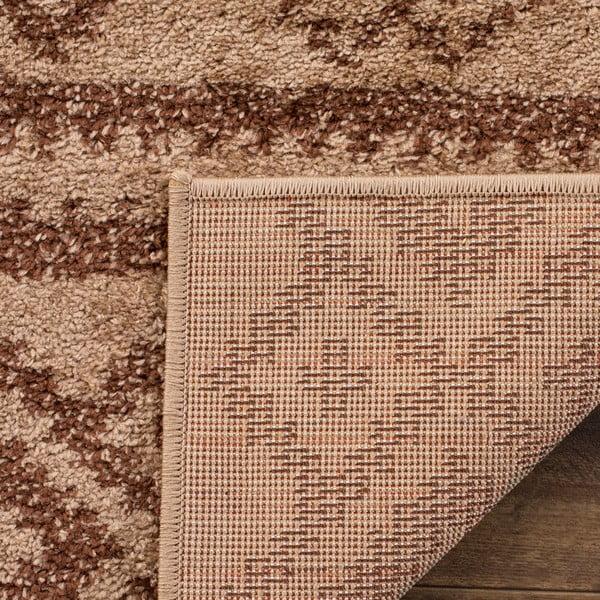 Dywan Amina Area 121x182 cm, brązowy