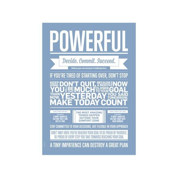 Plakat autorski Powerful Lavender, A3