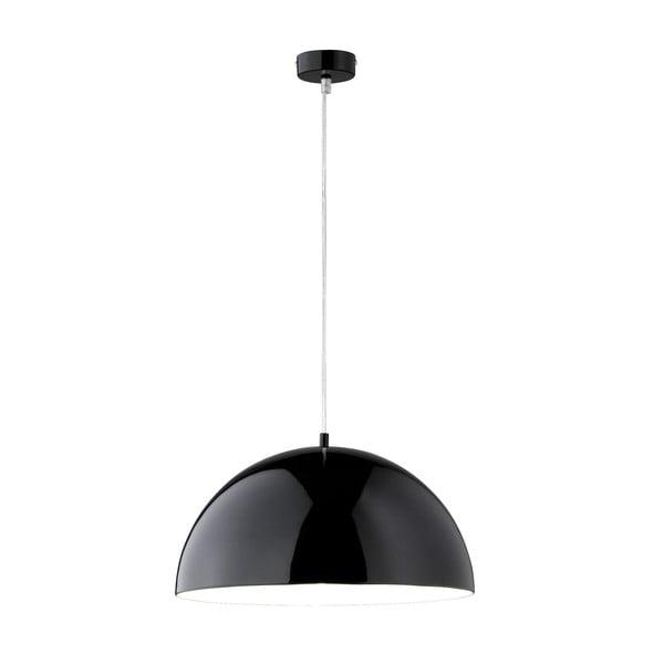 Lampa wisząca Bobby 40 cm, czarna