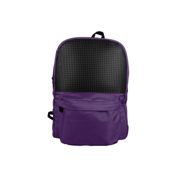 Plecak Pixelbag, purpurowy/czarny