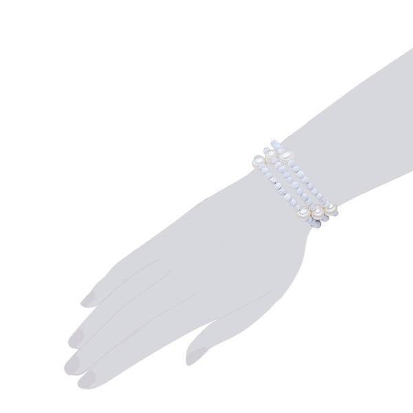 Bransoletka perłowa Nova Pearls Copenhagen Fione