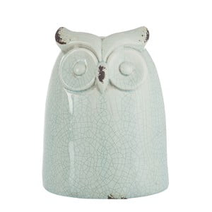 Dekoracja Azure Owl, 21,5 cm