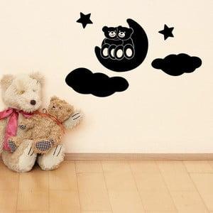 Naklejka Baby Bears and Moon