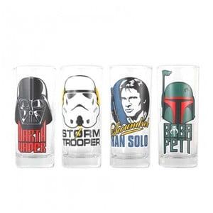Zestaw 4 szklanek Star Wars™ Characters, 300ml