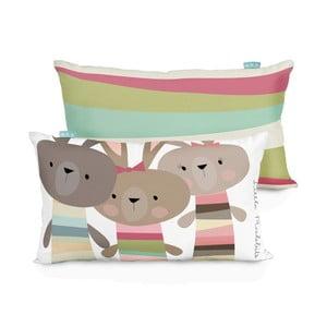 Poszewka na poduszkę Little W Little Rabbits, 50x30cm
