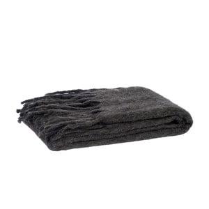 Pled Fringes Grey, 125x150 cm