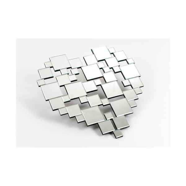 Lustro dekoracyjne Destructed Heart