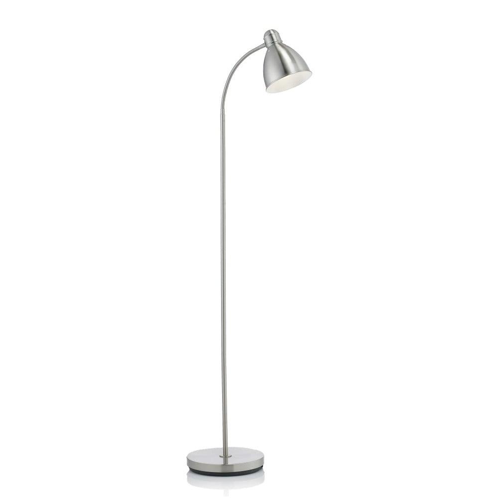 Lampa stojąca w kolorze srebra Markslöjd Nitta