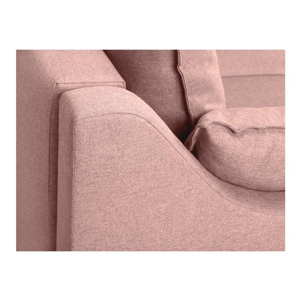 Jasnoróżowa sofa 2-osobowa Mazzini Sofas Ancolie