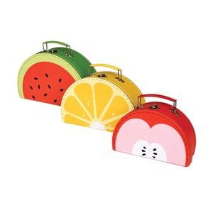Zestaw 3 kuferków Rex London Tutti Frutti
