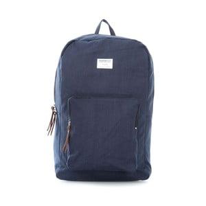 Ciemnoniebieski plecak ze skórzanymi detalami Sandqvist Kim