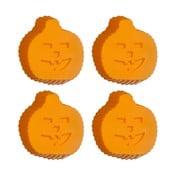 Zestaw 4 foremek silikonowych do babeczek Premier Housewares Pumpkin